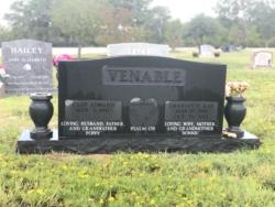 Venable - India Black - Double Upright